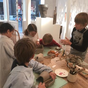 Atelier L'atelier des Enfants de la Galerie Grès - 7/12 ans - Paris 4è