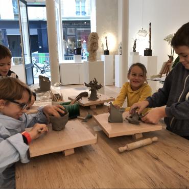 Atelier L'atelier des Enfants de la Galerie Grès - Paris 4è