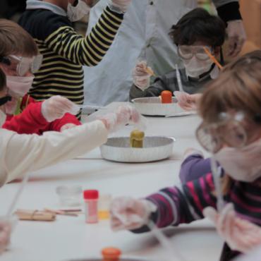 Atelier La Folie au labo 6/12 ans - 1 jour - Paris 16è