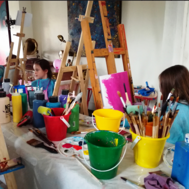 Atelier Peinture 5/12ans 3h - Nancy 54