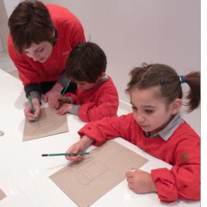 Atelier Peinture et sculpture 4/14ans 1/2j - Paris 12è