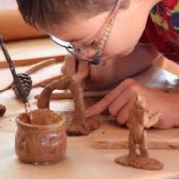 Atelier Sculpture modelage- 4/8 ans 4j-Paris 9è