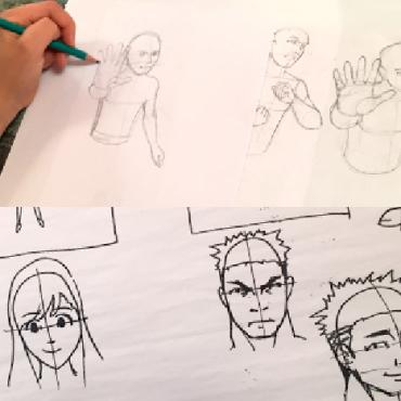 Atelier Stage manga de 8/14 ans - Paris 9è