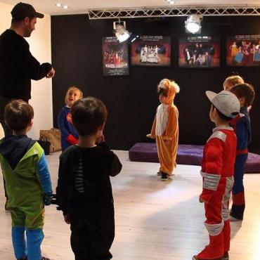 Atelier Une plongée dans l'univers des comédies musicales 3/12 ans -92 Neuilly
