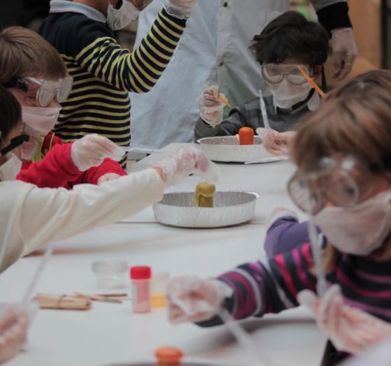 Anniv' au labo - Drôles de réactions - 5/12 ans - Paris 16è