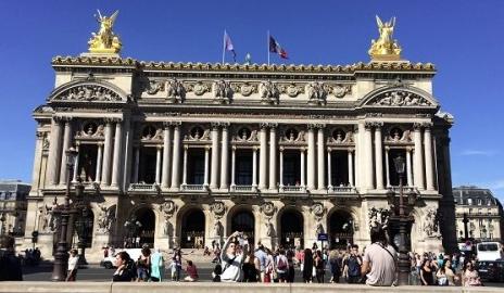 Anniversaire à l'Opéra Garnier - Paris 9è