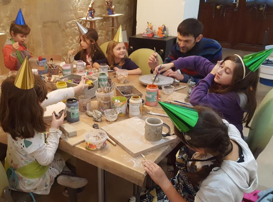 Anniversaire céramique - 5/12 ans - Paris 11è