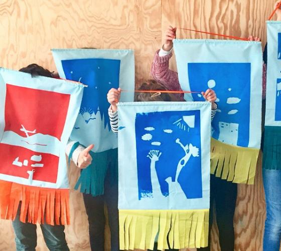 Atelier arts plastiques et sérigraphie - 6/11 ans - Nantes 44