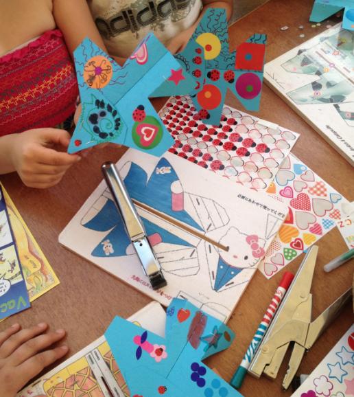 Atelier avions acrobatiques - 7/12 ans