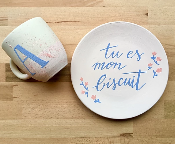 Atelier Biscuit céramique - Paris 11è