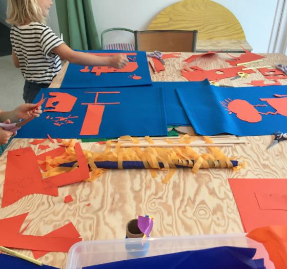 Atelier d'arts plastiques et sérigraphie - Nantes