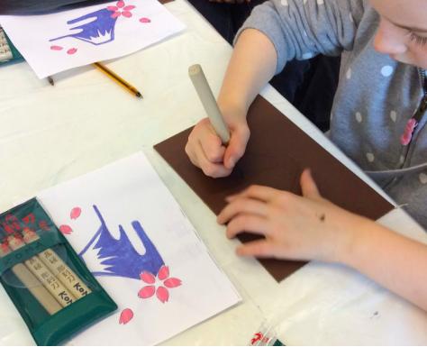 Atelier d' Estampe japonaise - 9/14 ans
