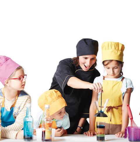Atelier de Cuisine Moléculaire - 6/12 ans - 69 Lyon