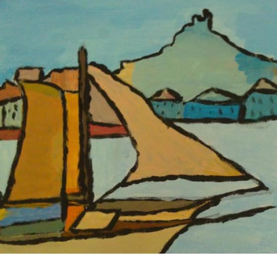 Atelier de peinture Ass Florine - 3/5 ans - Marseille