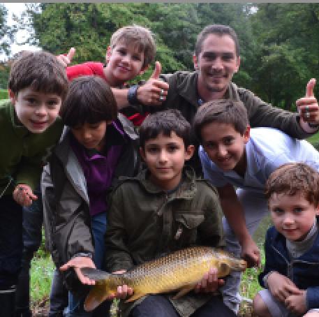 Atelier decouverte pêche samedi 8/14 ans - 92 Levallois Perret