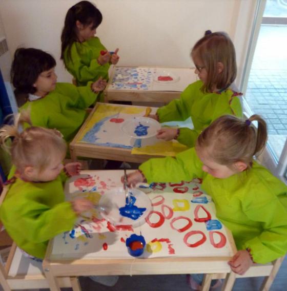 Atelier des couleurs - 4/11 ans