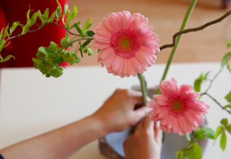 Atelier Floral traditionnel Japonais - 7/14 ans