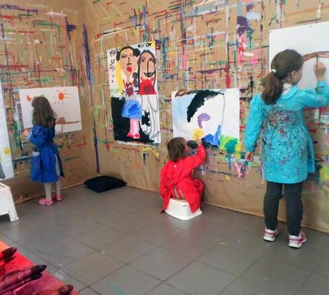 Atelier Gouache vac - 5/14 ans - Marseille