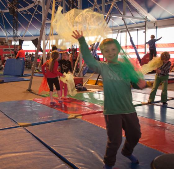 Atelier graine de cirque - 6/12 ans
