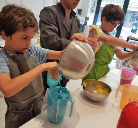 Atelier pâtisserie - 7/14 ans - Paris 17è
