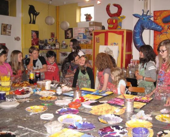 Atelier peinture 8/13ans 1h30 - Strasbourg 67
