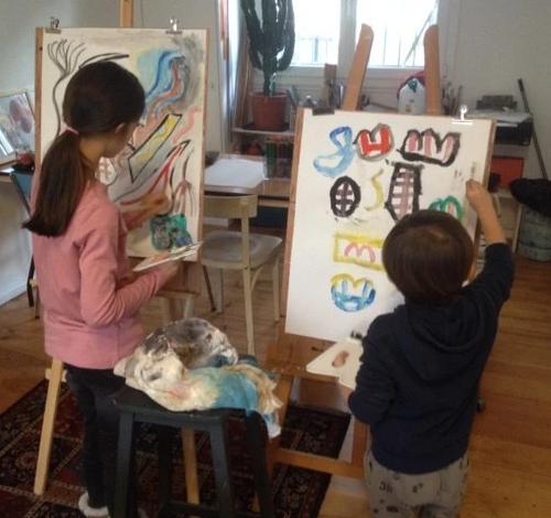 Atelier peinture et dessin 3h - 92 Boulogne