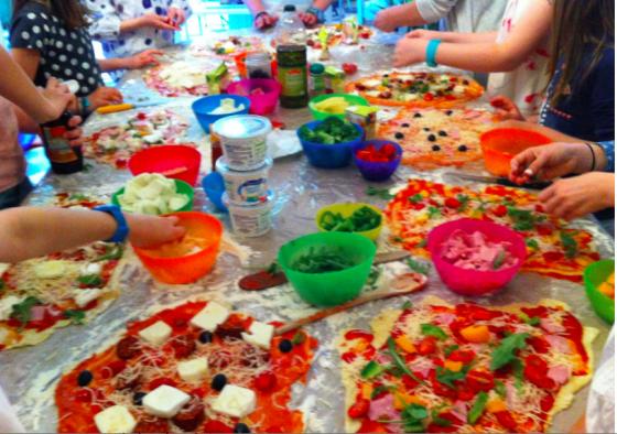 Atelier Pizza - 6/12 ans