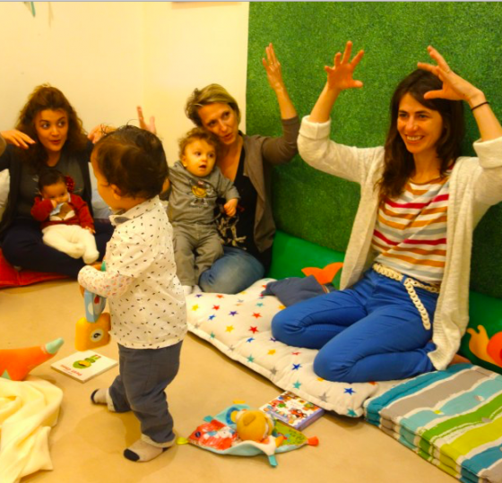 Atelier signes avec Bébé 0-3 ans - Paris 11è