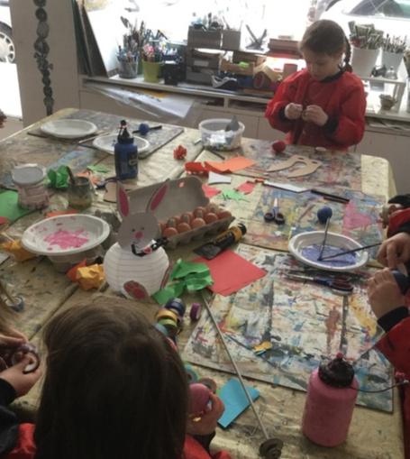 Ateliers créatifs 4/12 ans 1h30 - Paris 15è