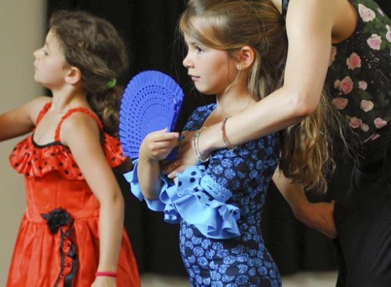 Cours de flamenco 6/10ans- En visio