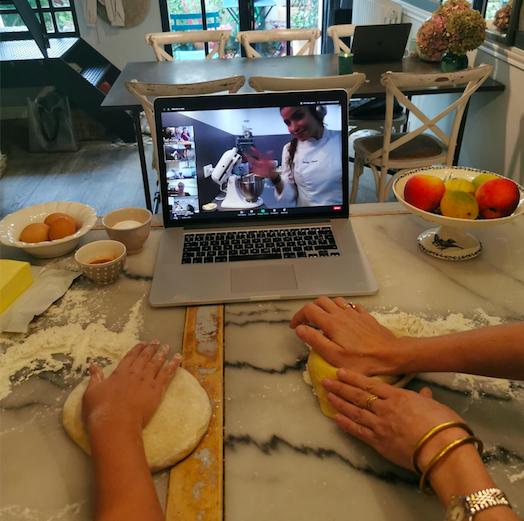 Cuisine et pâtisserie Charlotte aux poires 6/15ans 1h - En visio