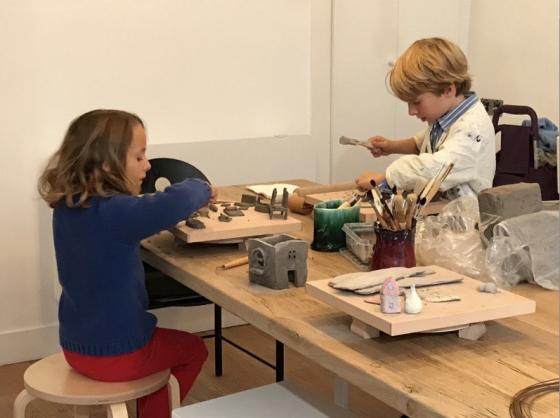 L'atelier de la Galerie Grès - Duo - Paris 4è