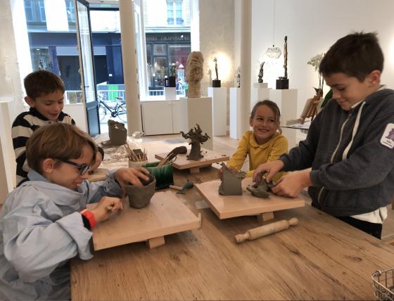 L'atelier des Enfants de la Galerie Grès - 8/15 ans - Paris 4è