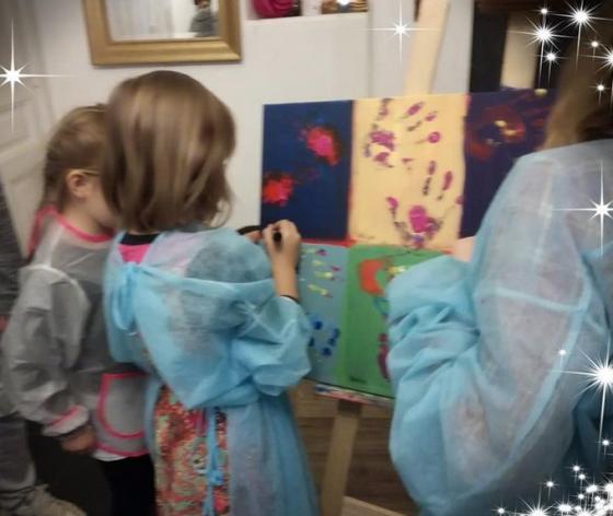 Les petits artistes - Nancy