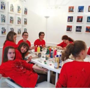 Modelage et peinture 3h - 4/14 ans - Paris 17e