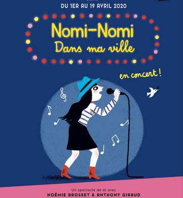 Nomi-Nomi dans ma ville -Théâtre Lepic - Paris 18è
