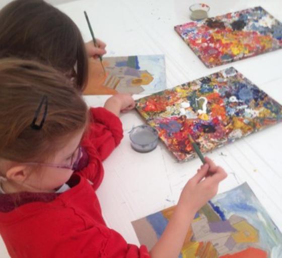 Peinture et modelage 3h - 4/14 ans - Paris 15è