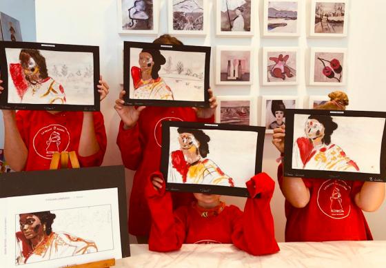 Peinture et modelage 5j - 4/14 ans - Paris 15è