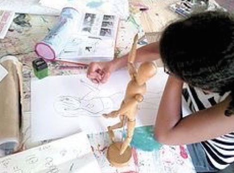 Stage de Dessin BD, Manga et illustrations - 11/14 ans - Marseille 13