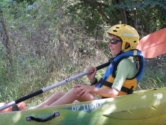 Un anniversaire en Canoé-Kayak - 8/14ans